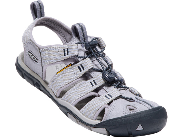 Keen Clearwater CNX Sandalias Mujer, dapple grey/dress blue